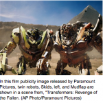 "Latest Transformer Flick Raises Questions About Its Racially Insensitive ""Comic Relief"""