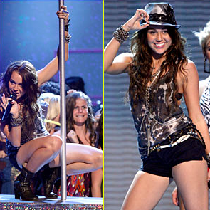 Miley Cyrus at the 2009 Teen Choice Awards
