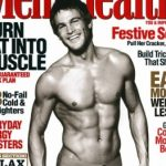 Male model Daniel Martin for Men's Health magazine