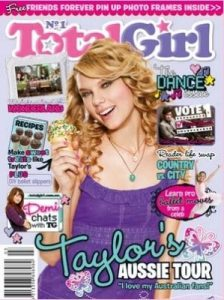 Total Girl Cover, March 2010