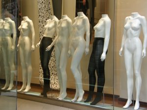 Argentine mannequins in Buenos Aires