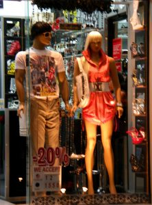 Mannequins in Playa de Carmen, Mexico