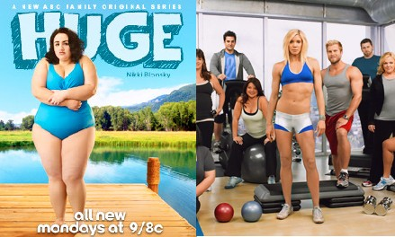 "TV shows ""Huge"" and ""Thintervention with Jackie Warner."" Photos from ABC Family and Bravo."