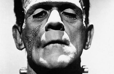 This is Frankenstein, not an image of the author.