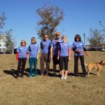"Team ""Freedom is Beauty"" at the Austin NEDA Walk - I'm the smiling blonde team captain!"