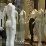 Typical Argentine mannequins found in the capital of Buenos Aires/Photo by Sharon Haywood