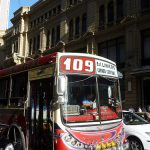 "A Buenos Aires bus, colloquially known as a ""bondi"" Photo Credit-Benjamin Dumas"