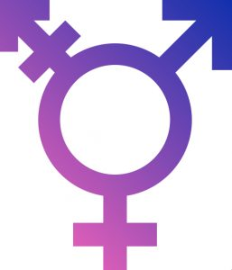 Transgender symbol via Wikipedia