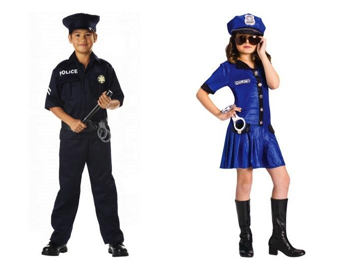 KidsCops  sc 1 st  Adios Barbie & Girls in Pants and Boys in Princess Costumes u2014 The Horror! - Adios ...
