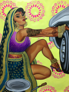 Tire Change Rani