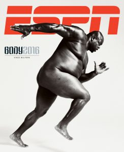 ESPN The Body Issue 2016 cover: Vince Wilfork