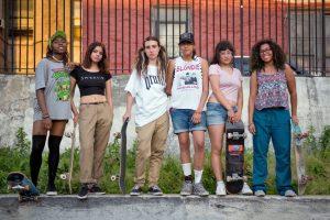 The Brujas Skate Crew in the Bronx, NY