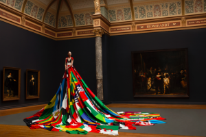Flag gown